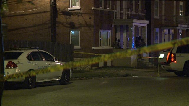 The teenager and another man were shot near the intersection of Keokuk and Virginia around 9 p.m.