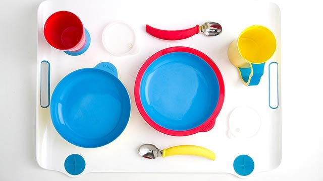 The complete Eatwell tableware set (Credit: Eatwell)
