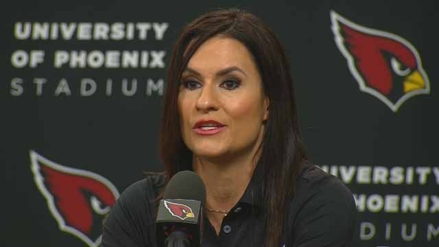 On Monday, July 28, 2015, the Arizona Cardinals announced the hiring of Jen Welter to the team's coaching staff. It is believed that she is the first woman to hold a coaching position of any kind in the NFL.