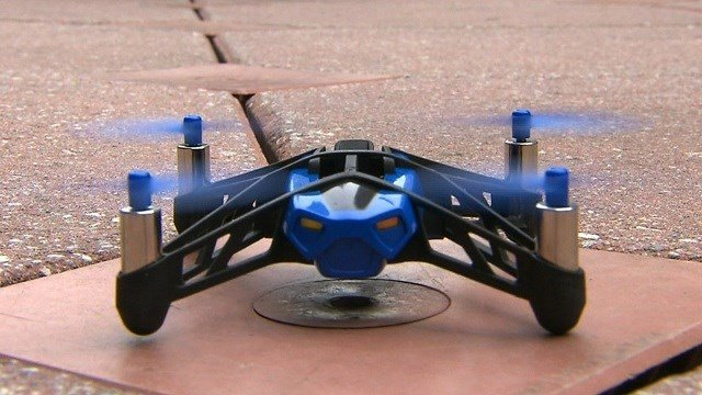 Drone-maker Parrot is releasing two new models of miniature drones this August: the Jumping Sumo and the Rolling Spider.