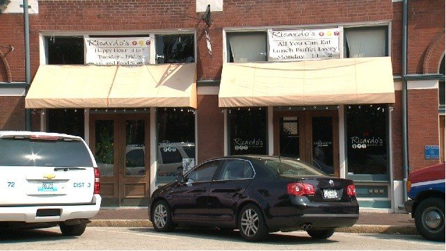 Over the weekend, Ricardo's Italian Café, a restaurant in Lafayette Square closed unexpectedly.
