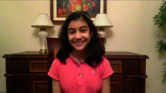 Sebastian achieved the top score of 162 on Mensa's Cattell III B paper, suggesting she has a higher IQ than well-known geniuses Albert Einstein and Stephen Hawking. (credit: CNN via Skype)