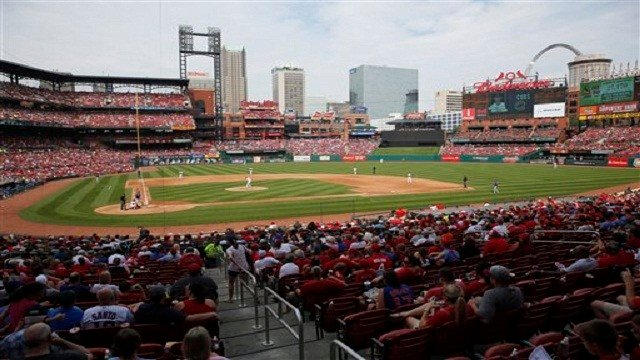 Busch Stadium looking to hire for a variety of positions before Opening Day. (Credit: KMOV)