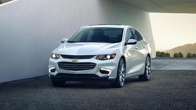 The 2016 Chevrolet Malibu (Credit: Chevrolet)