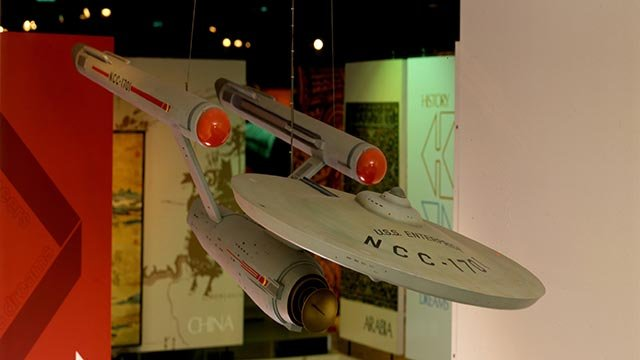 """The Smithsonian's National Air and Space Museum has put out a call to all """"Star Trek"""" fans to help preserve a piece of history.  (Credit: National Air & Space Museum)"""
