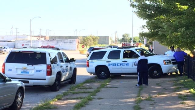 The body was found before 8 a.m. near the intersection of Alabama and Germania.