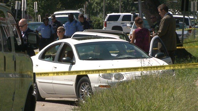 Homicide was requested after the man was found with a fatal gunshot wound at Lillian and Arlington around 10:50 a.m.