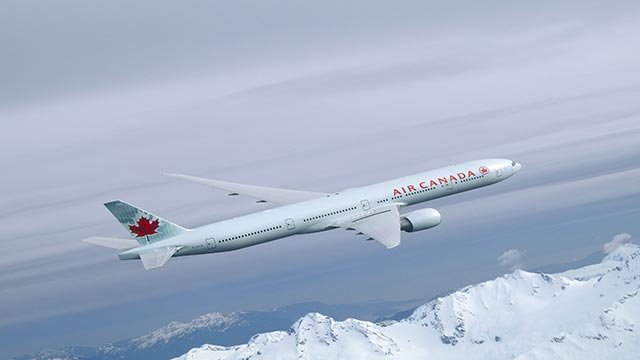 (Credit: Air Canada) A provided photograph showing an Air Canada Boeing 777.