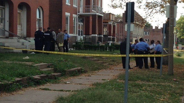 A man was found killed in the 3800 block of St. Louis Avenue in North St. Louis.