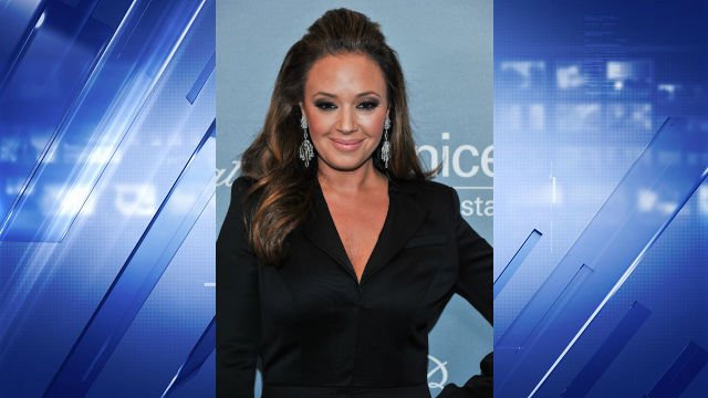 Leah Remini arrives at the 2014 UNICEF Ball on Tuesday, Jan. 14, 2014 in Beverly Hills, Calif. (Photo by Richard Shotwell Invision/AP)