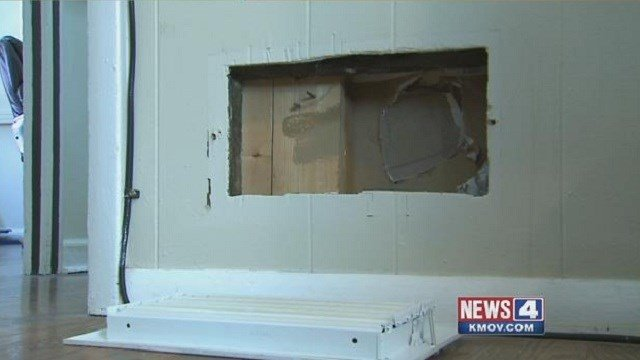 A Kirkwood man discovered fake vents inside his newly purchased home.