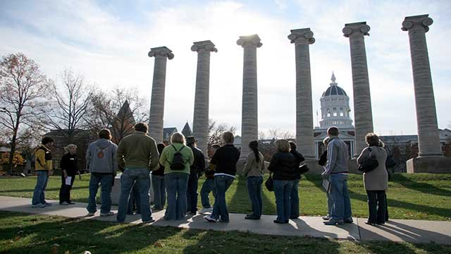 Despite a year of turmoil, Mizzou secured record fundraising. (AP Images)