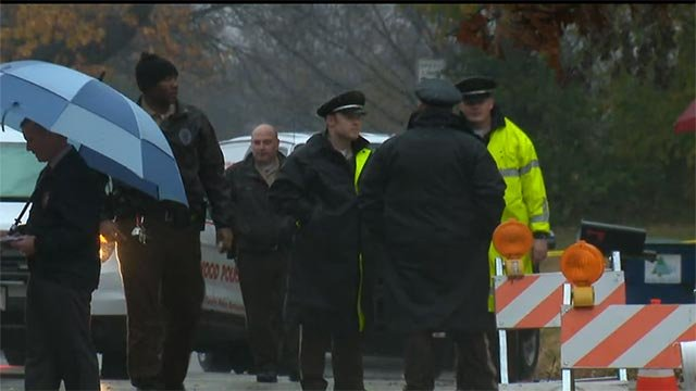A utility worker fatally shot an alleged armed robber in Dellwood Monday morning, police said