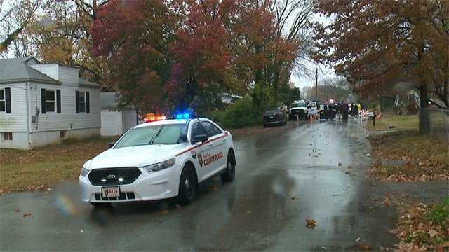 A utility worker fatally shot an alleged armed robber in Dellwood Monday