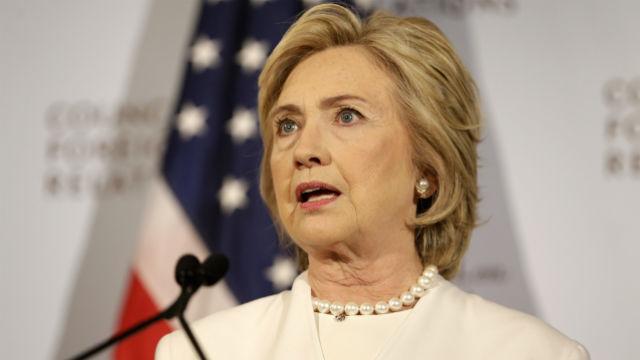 Hillary Clinton(AP Photo/Seth Wenig)