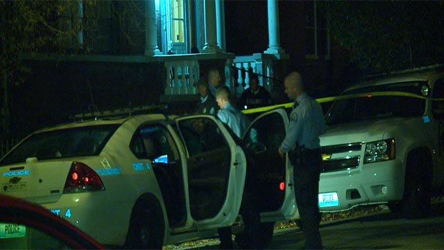 According to police, a man and woman were shot in the 3200 block of Barrett, near North Grand Boulevard, shortly after 10:30 Sunday night.