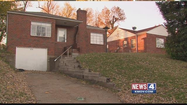 Photo Credit: KMOV. Caption: North St. Louis County homes being owned by out-of-state companies