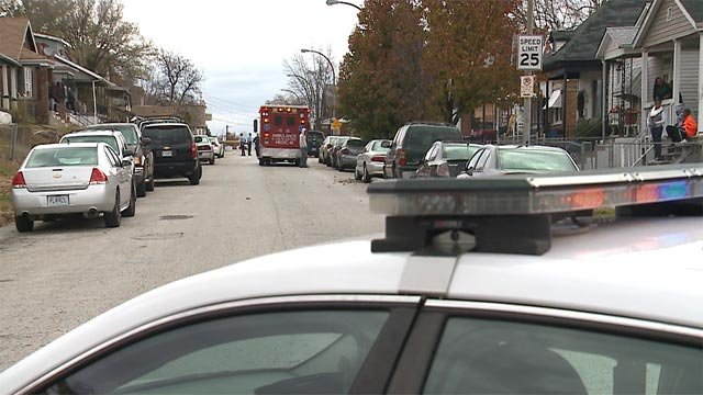 According to police, they were called to the 4900 block of Emerson following the shooting around 8:35 a.m.
