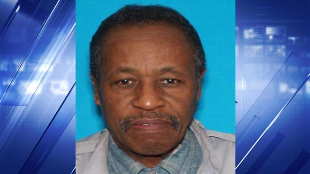 Robert Pinson Parson was reported missing after he became separated from his wife, who was driving a second vehicle, after leaving church Sunday afternoon