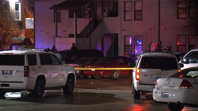 A man was fatally shot in the 4000 block of Peck Monday night