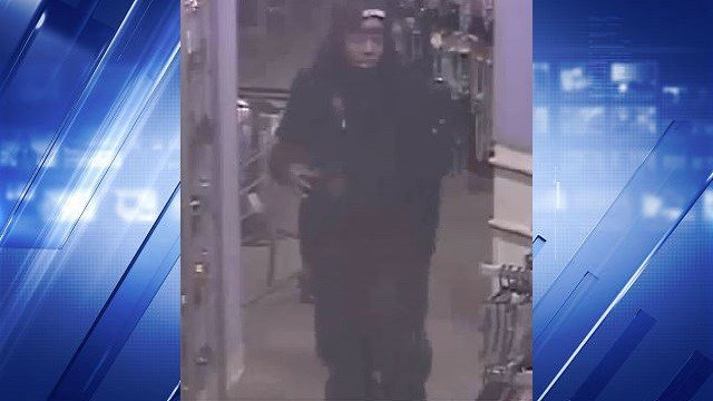 Police released surveillance footage of a man who allegedly escaped arrest after stealing perfume from a Gordmans in Fenton, Mo.