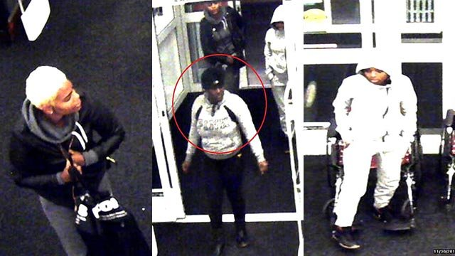 These three suspects allegedly took over $3,000 worth of Merchandise from a Collinsville Kohl's store Nov. 30