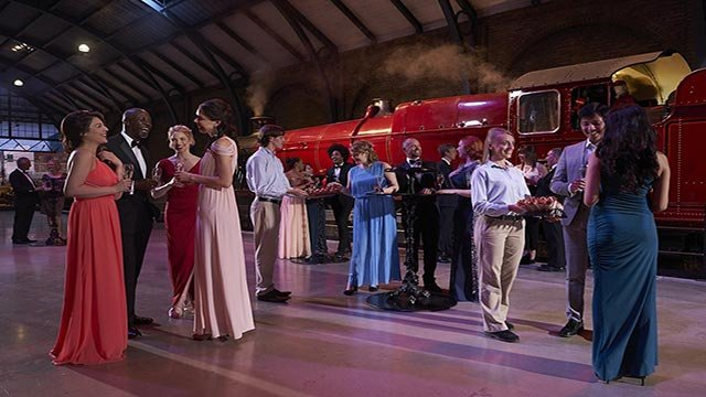 (Credit: Warner Bros. Studio Tour London) At just 230 pounds ($349) per person, the adults-only dinner -- which is actually at Warner Bros. Studio Tour London -- has already sold out.
