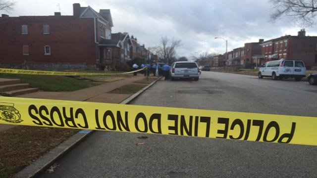 Around 10 a.m., authorities responded to the shooting call in the area of West Florissant and Adelaide.