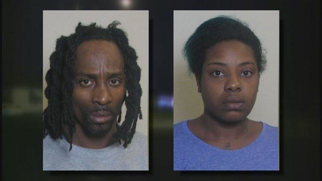 George Tillman (L) and Ashley Bonner (R) charged with first degree murder