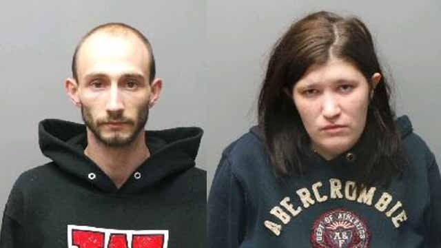 Lucas Barnes and Kathleen and have both been sentenced. Prosecutors say they left their son, 2, alone while they cooked meth in another room