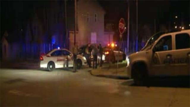 Officers pursued the suspects until the chase ended in the 1000 block of Tillie, which is in north St. Louis.