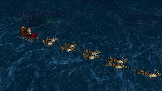 (Credit: NORAD Santa Tracker)
