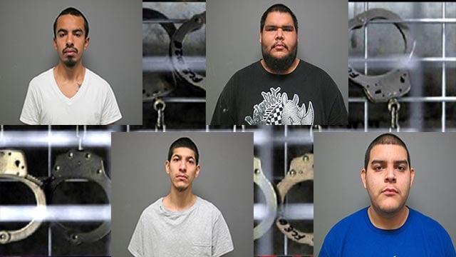 Francisco J. Hernandez-Rojero, 21, Rodrigo Avila, Jr., 21, Santo R. Banuelos, 20, and Pedro V. Banuelos, 25, were all charged with aggravated battery and mob action.