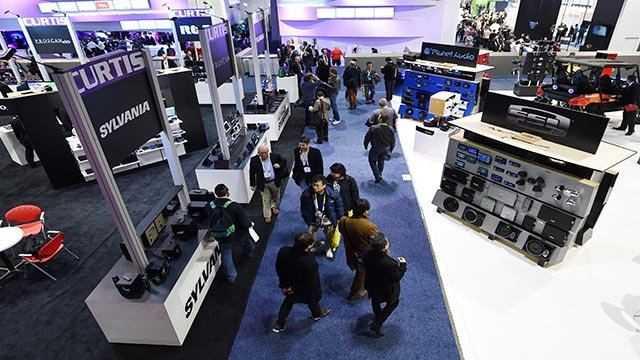 At this year's CES, 3,600 presenters are exhibiting gadgets, software, services and innovations that they believe will take off in a big way in 2016. (Credit: Sam Morris/Las Vegas News Bureau)