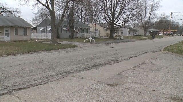 500 block of N. 37th Street in Belleville, Illinois