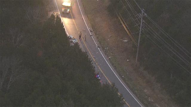The crash occurred on the highway nearButler Tractoraround 6:30 a.m.
