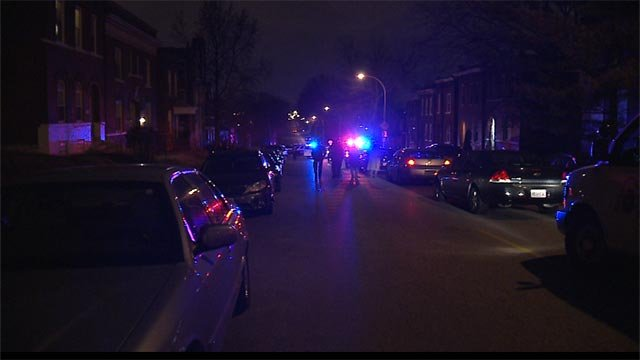 Officers said they responded to a call about a shooting in the 4100 block of Compton Avenue