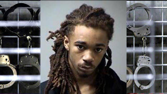 Derrick Antonio Mitchell Jr., 18, of Ferguson is accused of robbery and armed criminal action.