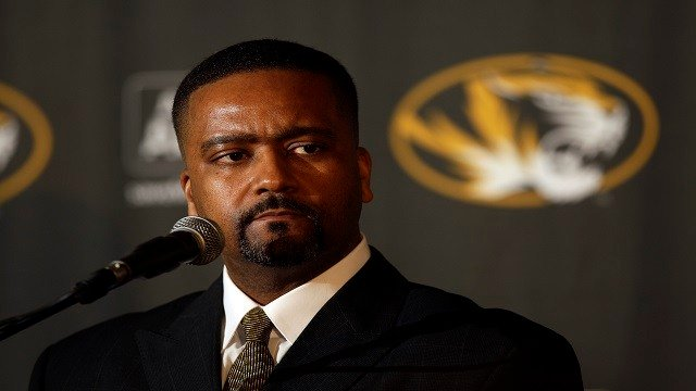 In this April 5, 2011 file photo, Frank Haith is introduced as the new head basketball coach at the University of Missouri during a news conference in Columbia, Mo.   (AP Photo/Jeff Roberson, File)