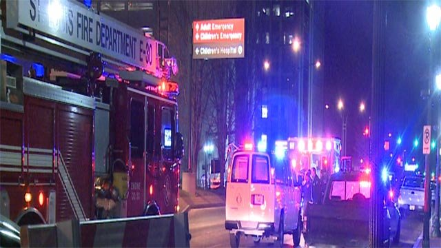The man was on Kingshighway at Children's Place when he was hit around 2:30 a.m.