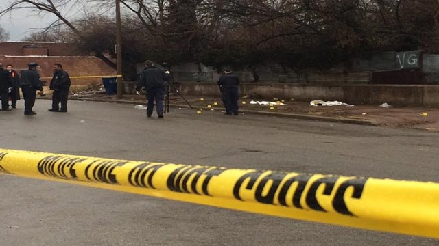 Two people were shot at Garfield and North Vandeventer before 8:30 a.m. on January 15.
