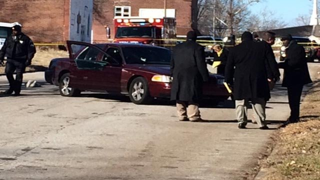 Around 10:45 a.m., police were called to the 4000 block of St. Ferdinand for a report of a man who had been shot.