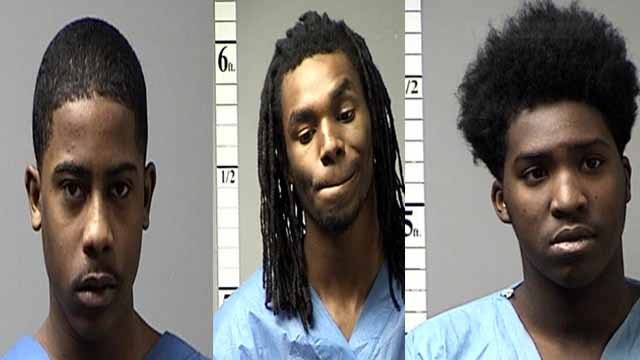 Kyle Berry and De'von Herron allegedly went into a Circle K gas station and robbed a clerk in Lake St. Louis at gunpoint. Anthony Crudup allegedly was the getaway driver