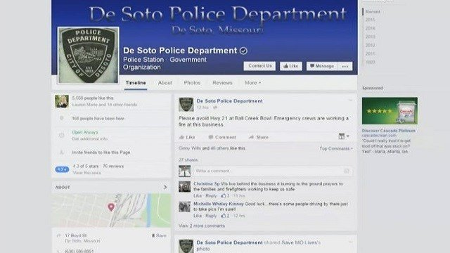 Police Chief Rick Draper wants to use social media such as Facebook as a tool.
