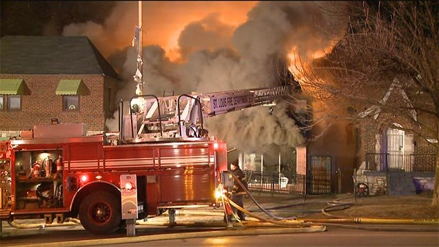 Firefighters were called to the St. Louis Metropolitan Church of Christ, located in the 6070 block of West Florissant, shortly after 2 a.m.