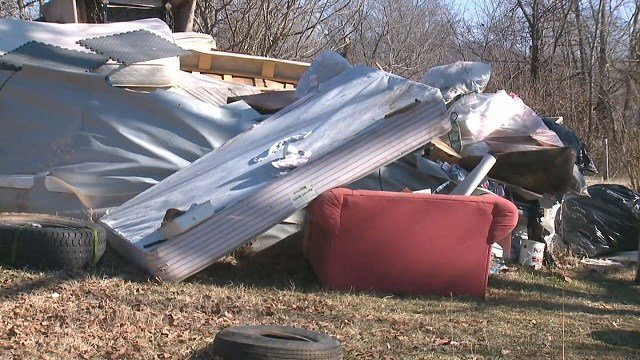 Debris found at Leadwood, Mo. home after being purchased on Craigslist
