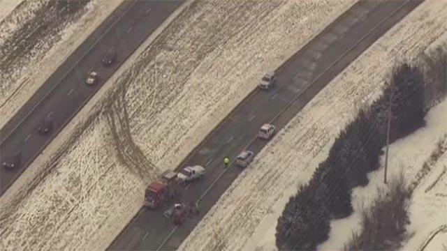 A mother and her two children were killed in this multi-vehicle crossover crash on January 21 on Highway 61 (KMOV)