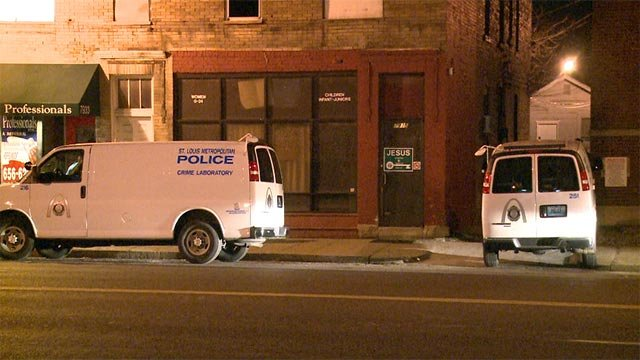 A man was found with a fatal gunshot wound in the 7900 block of Church just before midnight Sunday