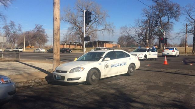Authorities responded after shots were fired near Beaumont High School Monday