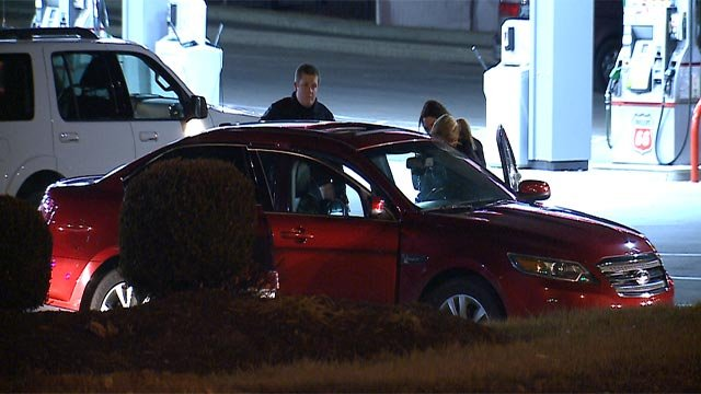 Authorities were called to the Phillips 66, located in the 2100 block of West Terra Lane, around 10:30 p.m. Monday (KMOV)